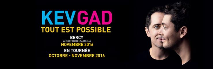 Kev Adams & Gad Elmaleh en tournée en France