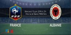 Projection Match France - Albanie Euro 2016